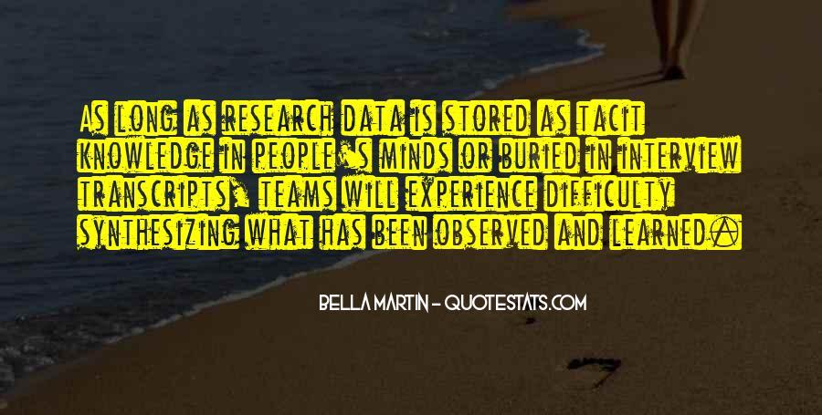 Bella Martin Quotes #1316124