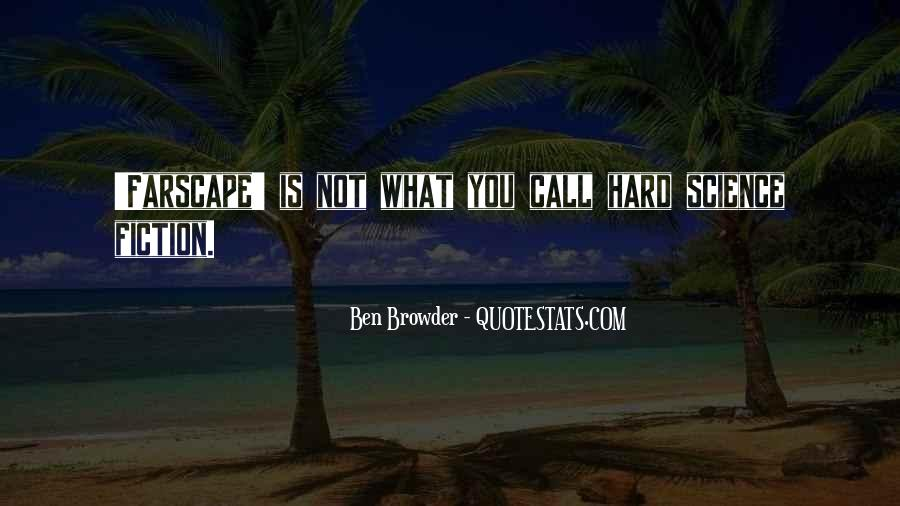 Ben Browder Quotes #1150876