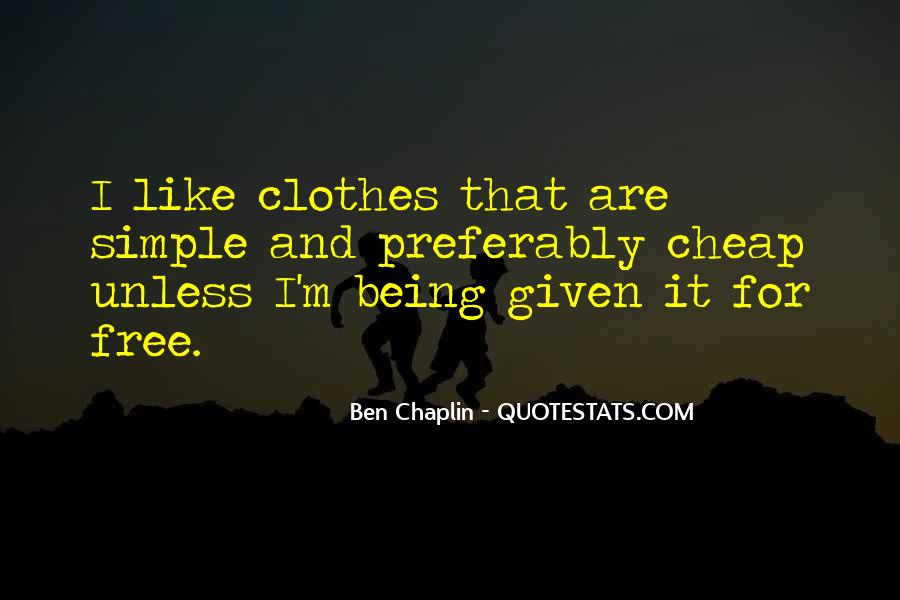 Ben Chaplin Quotes #1277527