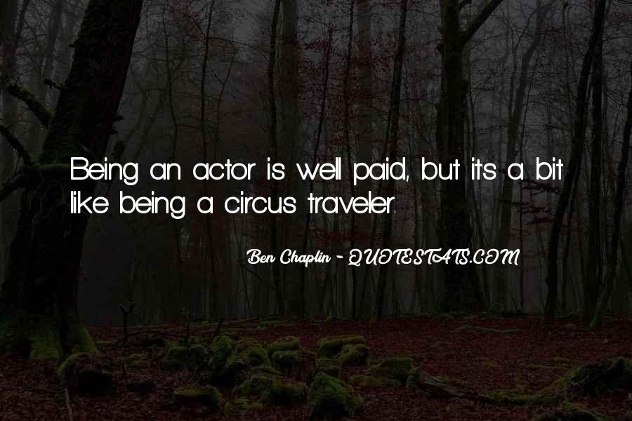 Ben Chaplin Quotes #135304