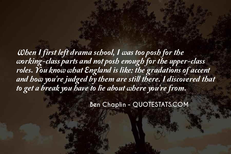 Ben Chaplin Quotes #586290