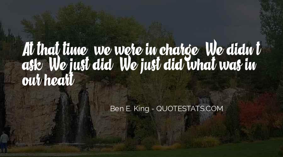 Ben E. King Quotes #1064036