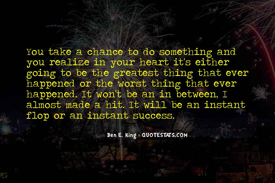 Ben E. King Quotes #11583