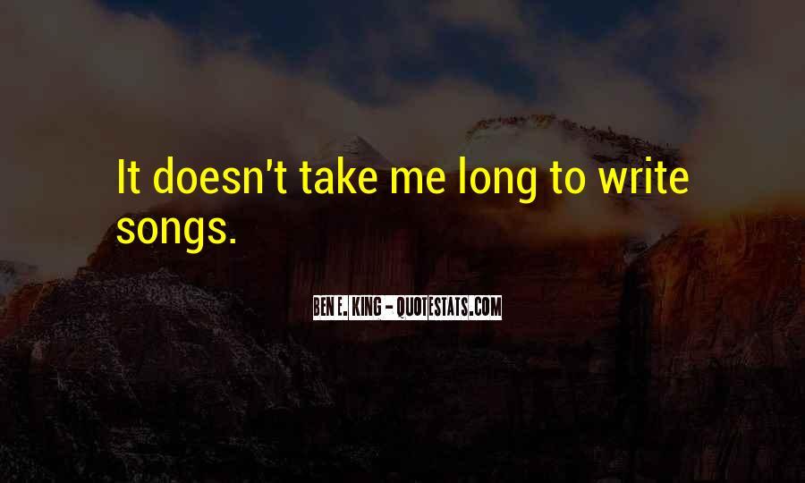 Ben E. King Quotes #1227527