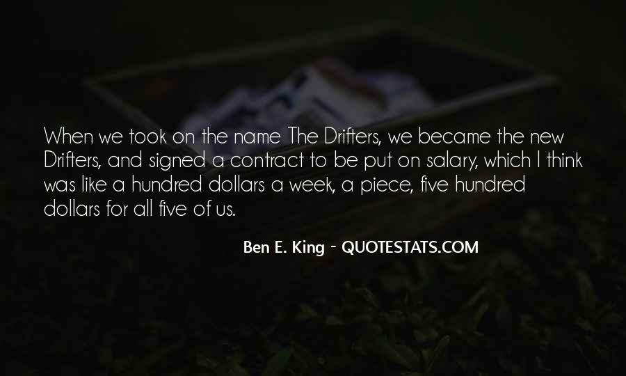 Ben E. King Quotes #1265332