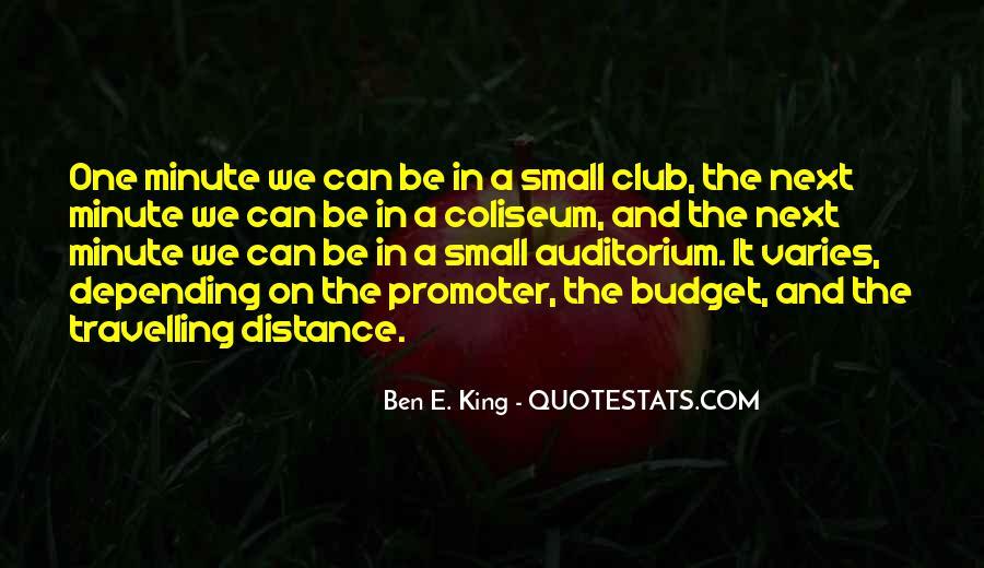 Ben E. King Quotes #1323573