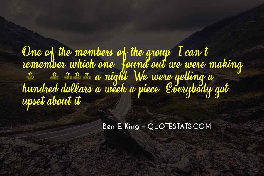 Ben E. King Quotes #1333833