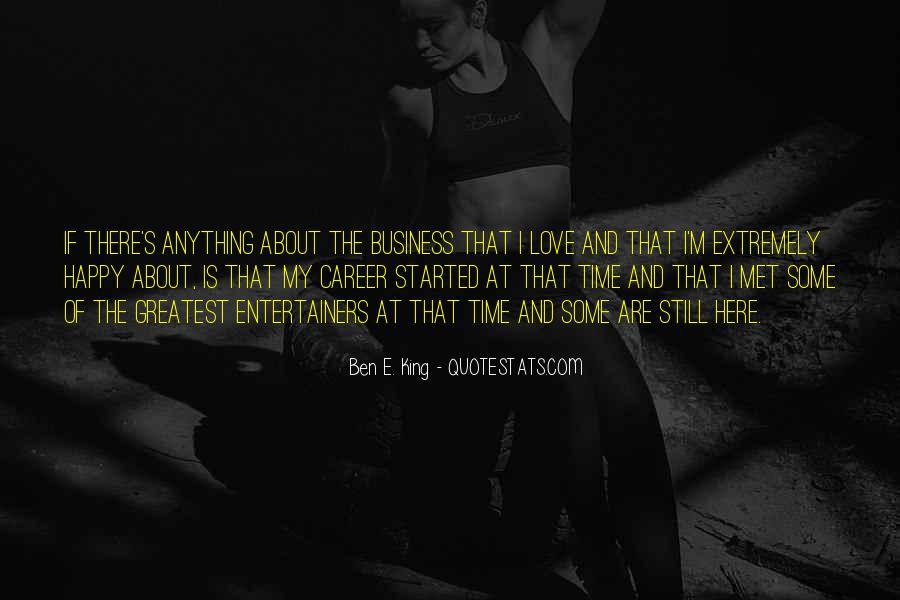 Ben E. King Quotes #1729675