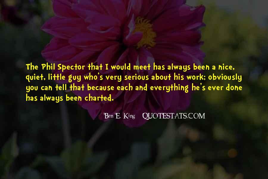 Ben E. King Quotes #174717