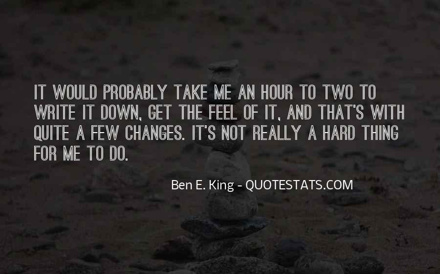 Ben E. King Quotes #32688