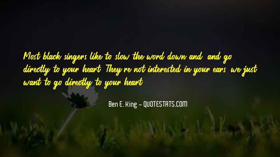 Ben E. King Quotes #370749