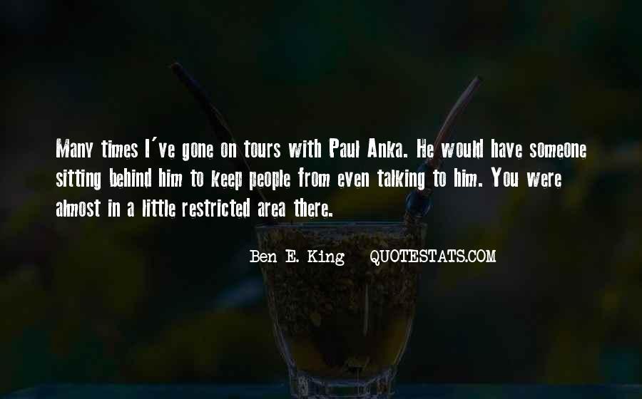 Ben E. King Quotes #442774