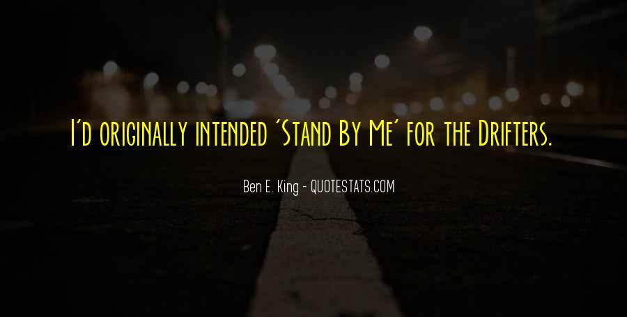 Ben E. King Quotes #67073