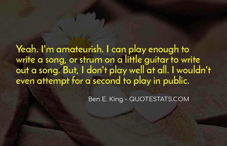 Ben E. King Quotes #792755