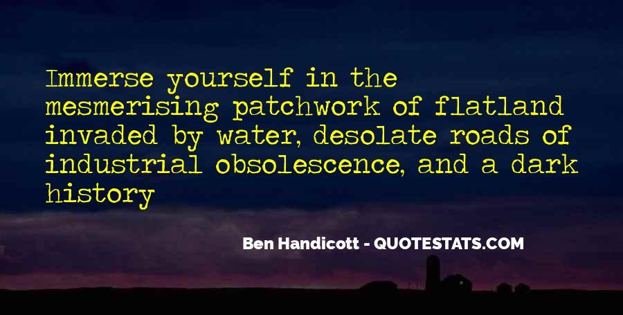 Ben Handicott Quotes #1138276