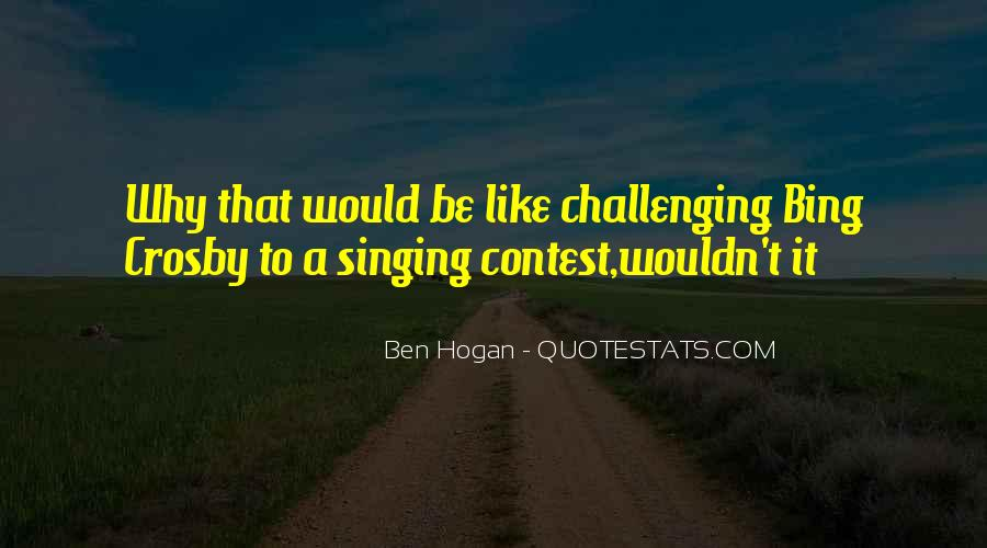 Ben Hogan Quotes #1247245