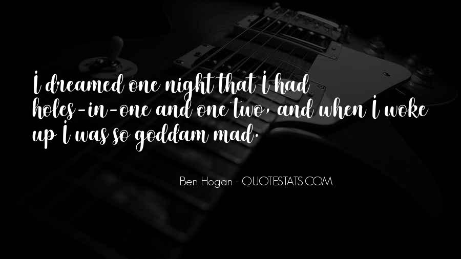 Ben Hogan Quotes #1356980