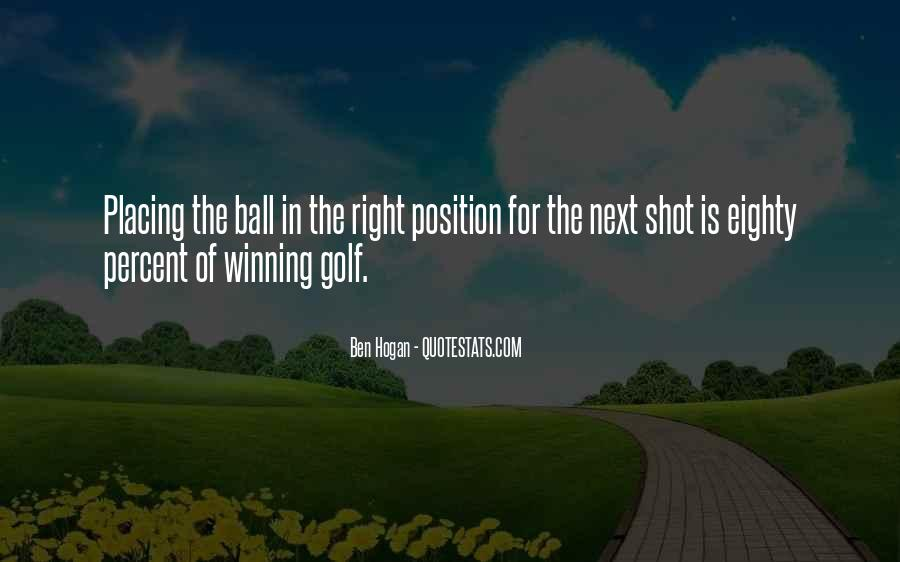 Ben Hogan Quotes #1615908