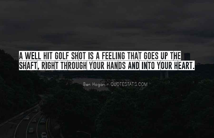 Ben Hogan Quotes #1634896