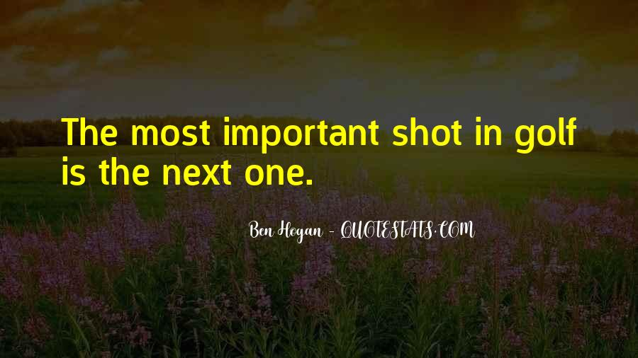 Ben Hogan Quotes #1737757