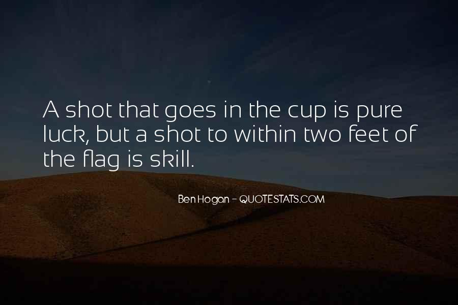 Ben Hogan Quotes #434488