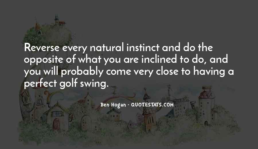 Ben Hogan Quotes #513116