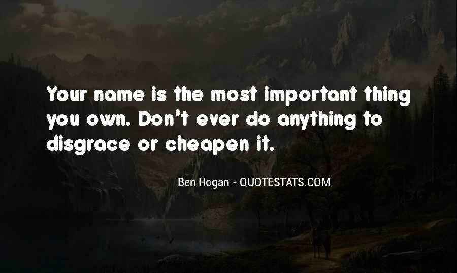 Ben Hogan Quotes #92318