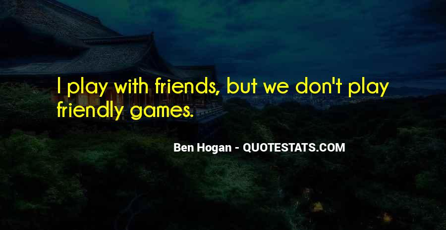 Ben Hogan Quotes #940121