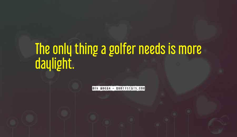 Ben Hogan Quotes #986913