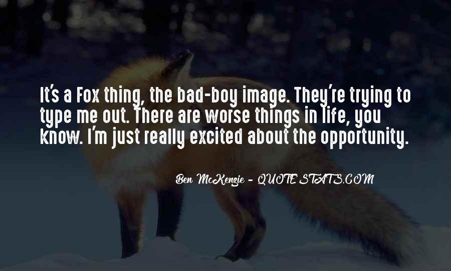 Ben McKenzie Quotes #218796