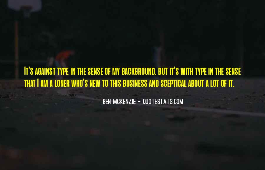 Ben McKenzie Quotes #605035