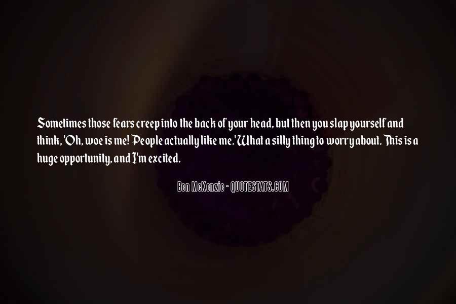 Ben McKenzie Quotes #6378