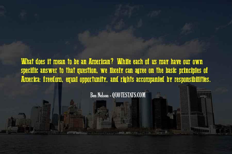 Ben Nelson Quotes #147445