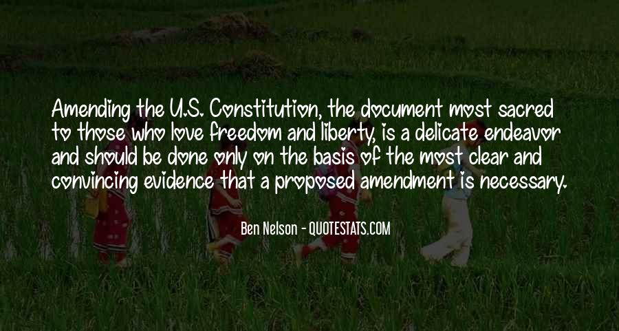 Ben Nelson Quotes #1640892