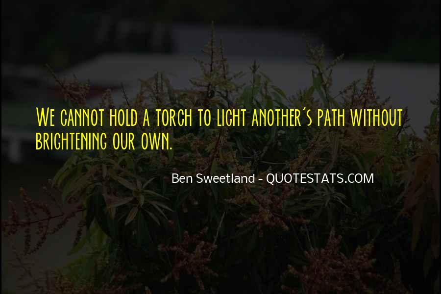 Ben Sweetland Quotes #1100025