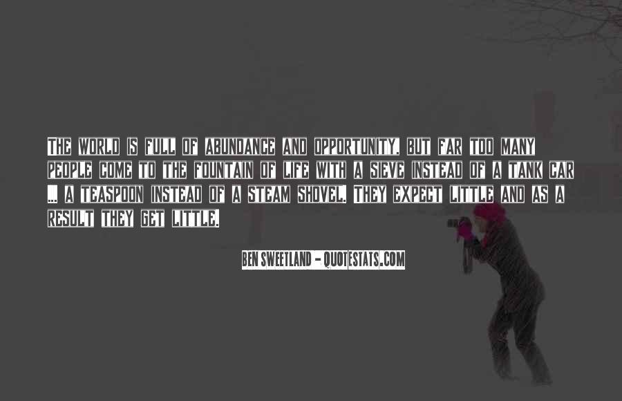 Ben Sweetland Quotes #1514008