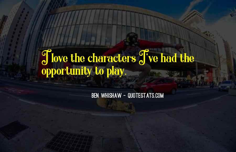 Ben Whishaw Quotes #1235837