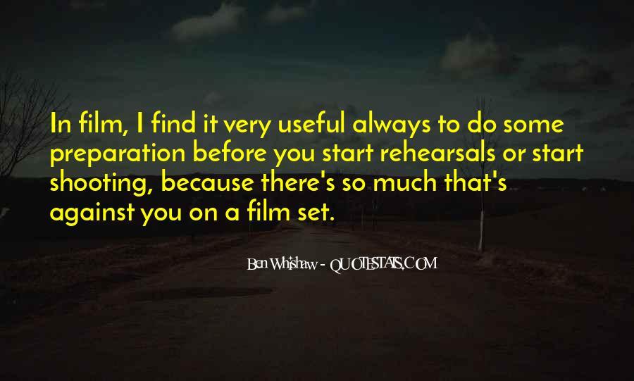 Ben Whishaw Quotes #1281821