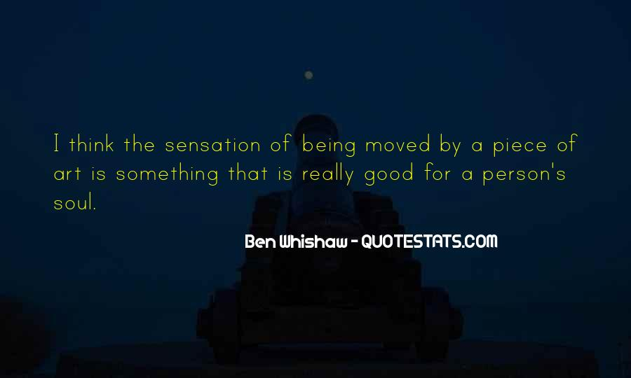 Ben Whishaw Quotes #1338289