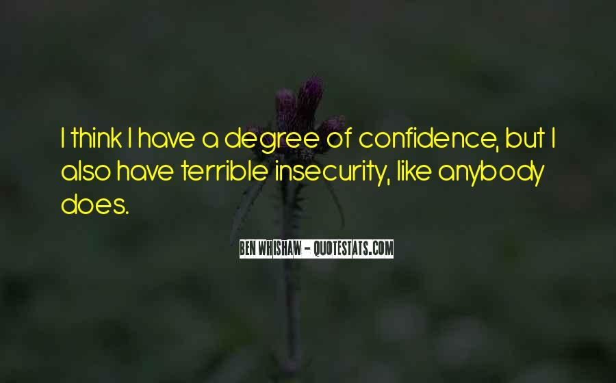 Ben Whishaw Quotes #1592935
