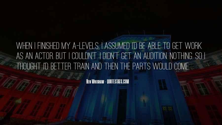 Ben Whishaw Quotes #1597994