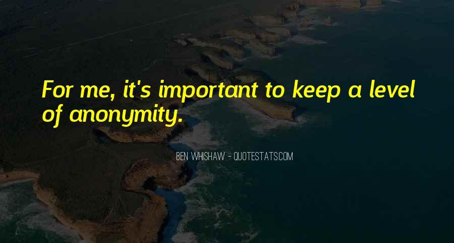 Ben Whishaw Quotes #1665801