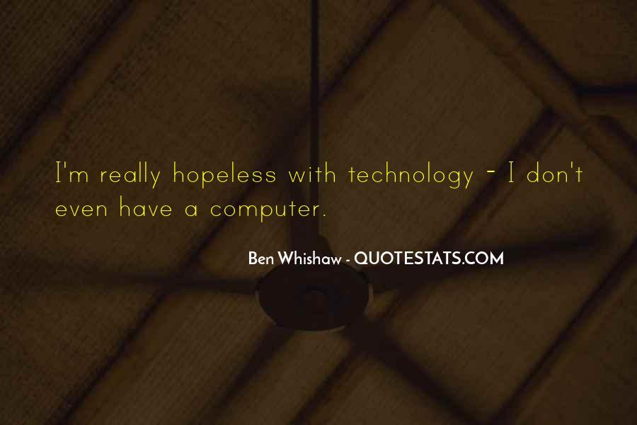 Ben Whishaw Quotes #1786875