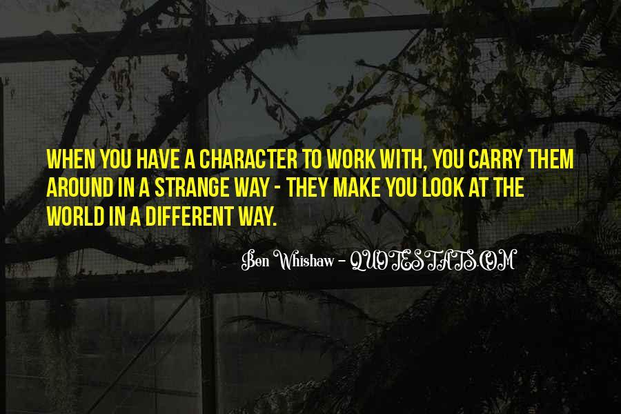 Ben Whishaw Quotes #637661