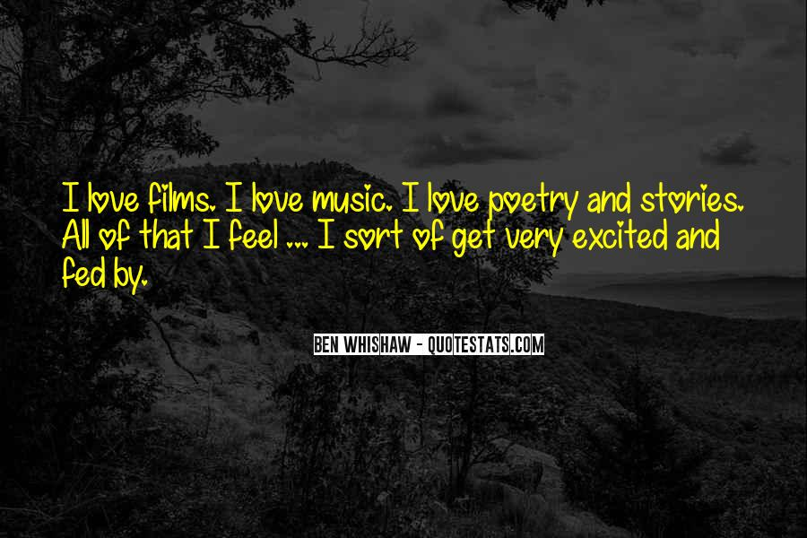 Ben Whishaw Quotes #72123