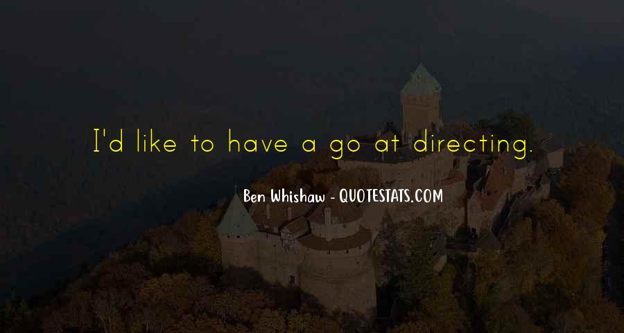 Ben Whishaw Quotes #78181