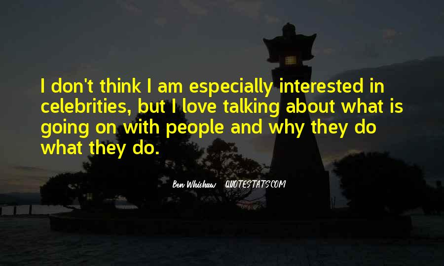 Ben Whishaw Quotes #825011