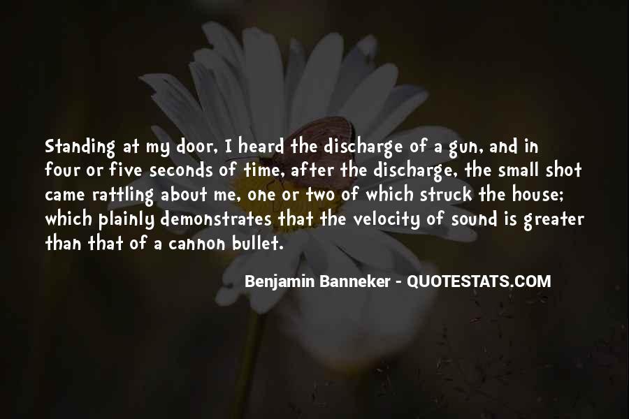 Benjamin Banneker Quotes #124648