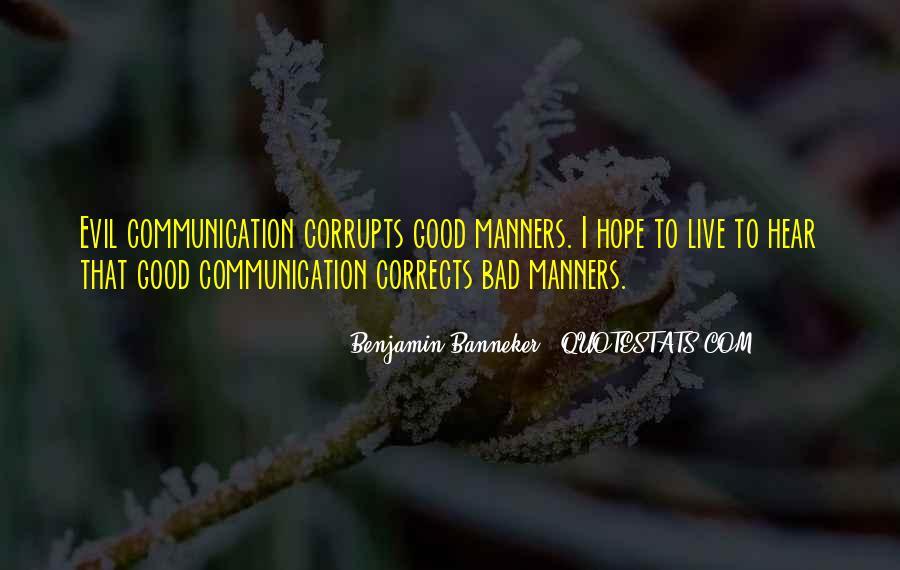 Benjamin Banneker Quotes #519989
