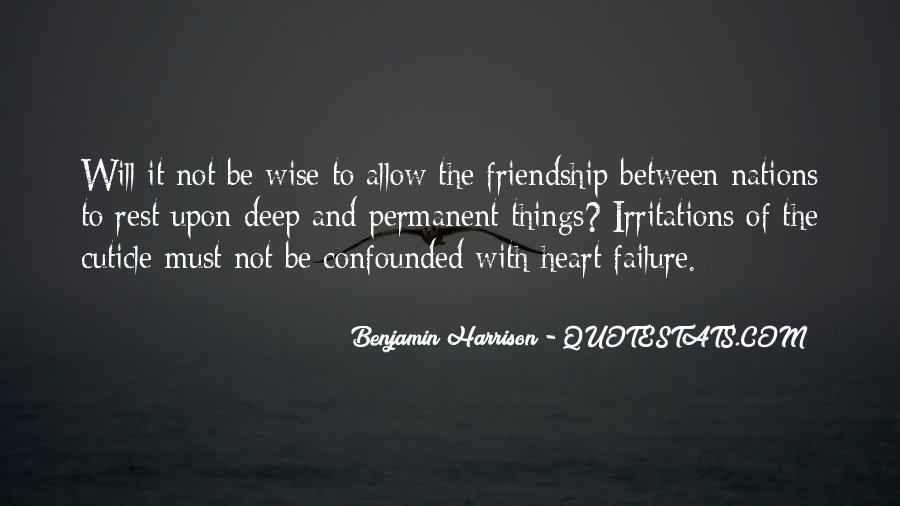 Benjamin Harrison Quotes #1194355
